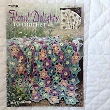 Floral Delights Crochet 8 Afghans Leisure Arts Terry Kimbrough