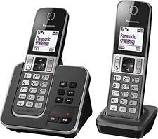 Panasonic Kx-tgd322frg Duo Telephone sans fil Repondeur Noir