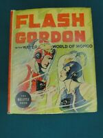 BIG LITTLE  BOOK - FLASH GORDON IN THE WATER WORLD OF MONGO #1407 - HIGH GRADE!