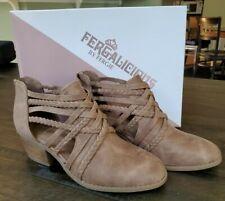 NEW Fergalicious Women's Bunker Sand Brown Fashion Boots Booties Size US 7 NIB