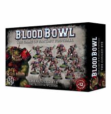 GAMES Workshop: BLOOD Bowl il gouged Eye ORC TEAM x 12 giocatori