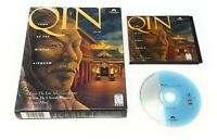 Qin: Tomb of the Middle Kingdom (PC, 1995) Big Boxed Edition RARE FREE SHIPPING!