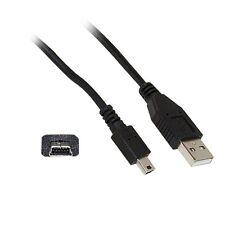 Sharkoon * mini-USB2.0-Verbindungskabel  USB A --> Mini USB B * Länge 1m schwarz