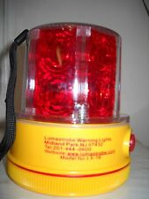 Portable LED RED Warning Light  LX-18-R-S with magnetic base