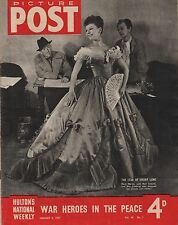 PICTURE POST(4 January 1947) -MARY MARTIN - NOEL COWARD -  A V.C. WITHOUT A HOME