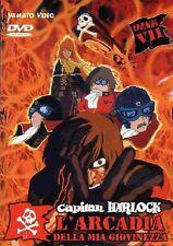 CAPITAN HARLOCK ARCADIA DELLA MIA GIOVINEZZA MOVIE DVD DISCO VII