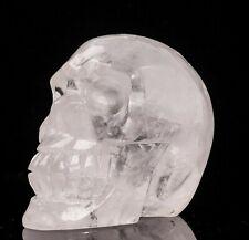 Crâne en cristal de roche de 908 gr,prix  bas !!