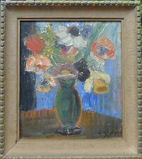 RUTH SJÖGREN (SWE 1885-1978) SILLLEBEN - BLUMENSTRAUSS - FLOWERS - EXPRESSIV