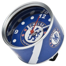 OFFICIAL CHELSEA FC TIN CAN DESK CLOCK FOOTBALL BEDSIDE