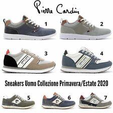 PIERRE CARDIN scarpe uomo sneaker sport/casual estive modello Nike Adidas Reebok
