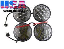 "4X 5-3/4"" INCH  LED CREE LIGHT BULBS CRYSTAL CLEAR MOTORCYCLE  HEADLIGHT HEADLAM"
