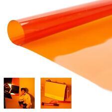 More details for cto orange lighting filter gel theatre dj disco photography x5, 50x40cm