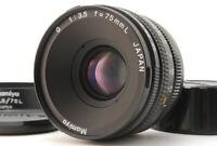 CLA'd【MINT + Hood 】 Mamiya G 75mm F3.5 L MF Standard Lens For New Mamiya 6 JAPAN