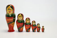 Indian Themed Russian Style Nesting Dolls
