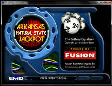 Winning the Arkansas Natural State Jackpot Lottery Number Pick Software (CD)