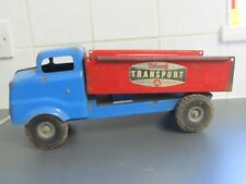 """Vintage Triang Junior Truck Restoration Project? Lorry solid loft find 14"""" 35cms"""