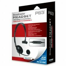 DreamGear Playstation 3 PS3 Broadcaster Headset  NEW!