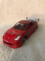 JADA Red Toyota Celica Import Racer Tuner 1:24 Scale Diecast Model Car VHTF!