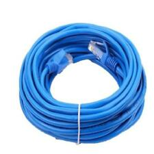100ft 100 FT Rj45 Cat5 Cat 5 High Speed Ethernet LAN Network Gray Patch Cable