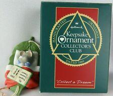 Hallmark 1989 Collect A Dream Collector's Club Ornament Nos Qxc428-5