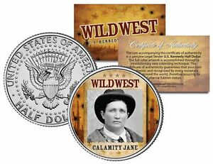 CALAMITY JANE * Wild West Series * JFK Kennedy Half Dollar U.S. Coin