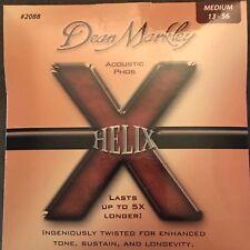 Dean Markley HELIX Acoustic PHOS Guitar Strings Medium 2088