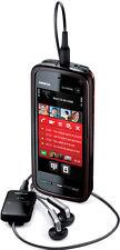 Nokia  XpressMusic 5800 - Schwarz und Rot (T-Mobile) Smartphone