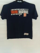 Detroit Tigers MAJESTIC (A-10) Postseason We Play for October 2013 XL X-Large