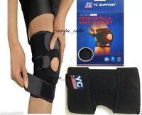 Black Neoprene  Patella Knee Stabilising Strap Brace Support & Adjustable Strap