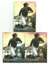 2014 BOWMAN PLATINUM PROSPECTS AUSTIN MEADOWS 3 CARD LOT #BPP39