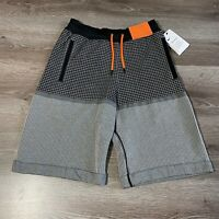 NIKE SPORTSWEAR TECH PACK MENS KNIT SHORTS GREY SIZE EXTRA SMALL XS AR1587-010