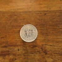 1939-M Mexico 10C 10 Centavos Mexican Mint Coin