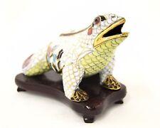Cloisonne Hand Made Vintage Frog