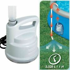 More details for bestway submersible pool drain pump 800 gal flowclear emptying drainage hot tube