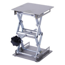 "4 x 4"" Stainless Steel Lab-Lift Lifting Platform Stand Rack Scissor Jack al"