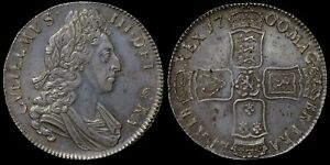 WILLIAM III, 1700 SILVER CROWN