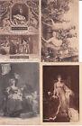 Lot de 4 cartes postales anciennes VERSAILLES musée charles V MARIE ANTOINETTE