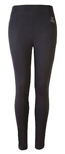 Womens Leggings Ladies High Waisted Long Pants Gym Yoga Dance Brody & Co.Black