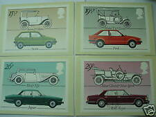 UNITED KINDOM - Cars stamp Maxi Cards (With stamps)
