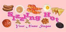 SIZZLING HOT PINK  BAR RUNNER ( design1 ) PERSONALISED FREE