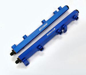 OBX Fuel Injection Rail Fit 03 04 05 06 07 Nissan 350Z / Infiniti G35 VQ35D Blue