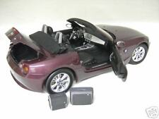 BMW  Z4 cabriolet convertible violet au 1/12 KYOSHO voiture miniature collection