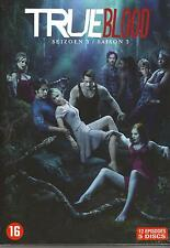 TRUE BLOOD : SEIZOEN / SAISON 3 - DVD BOX SET COFFET sealed sous cello