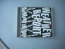 WEATHER REPORT / DOMINO THEORY  - JAPAN CD opened