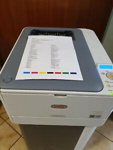 OKI ES5431 Farblaserdrucker, Duplex, LAN, nur 16145 Seiten