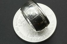 Sizes 9-16 Pieces Of Eight 1 oz .999/% Silver Pirate Pillar Dollar Coin Ring