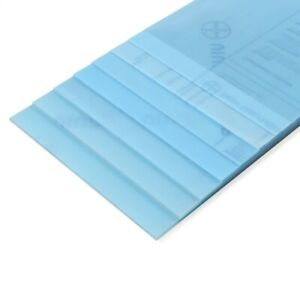 Amati B3603/02 Feuille Polyester Transparent 194x320mm - 0,75mm Modélisme