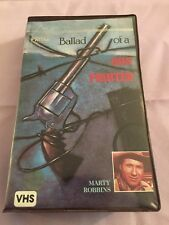 Ballad of a Gun Fighter VHS Video Tape Movie Clamshell Marty Robbins Prism