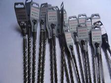 Destockage gros lot de 20 forets SDS PLUS 2 taillants de 10 a 18mm