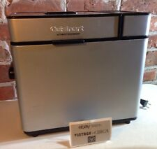 Cuisinart Cbk-100 Automatic Stainless Steel Breadmaker 2 lb Loaf w/ Recipe Book